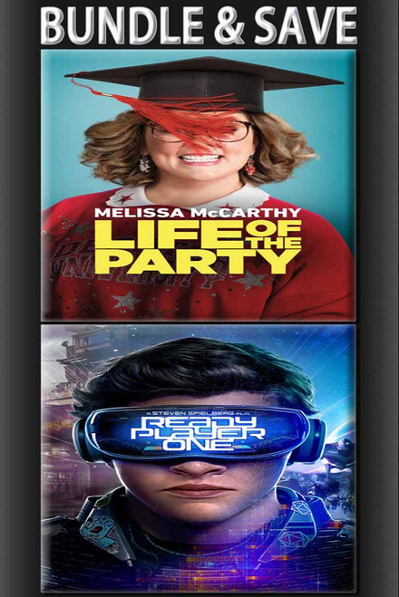 Life Of The Party + Ready Player One BUNDLE [Movies Anywhere HD, Vudu HD or iTunes HD via Movies Anywhere]