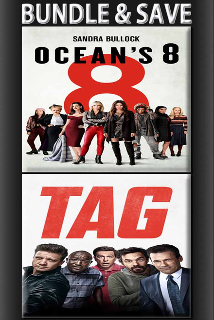 Ocean's 8 + Tag BUNDLE [Movies Anywhere HD, Vudu HD or iTunes HD via Movies Anywhere]