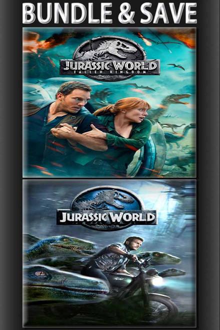 Jurassic World: Fallen Kingdom + Jurassic World BUNDLE