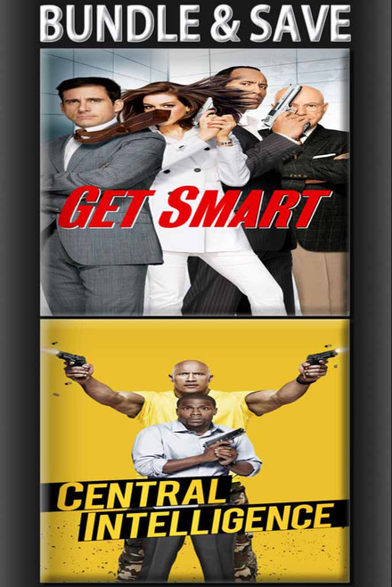 Central Intelligence + Get Smart
