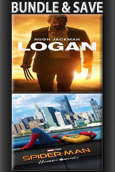 Spiderman Homecoming + Logan