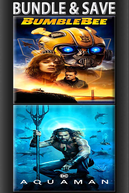 Aquaman + Bumblebee Bundle