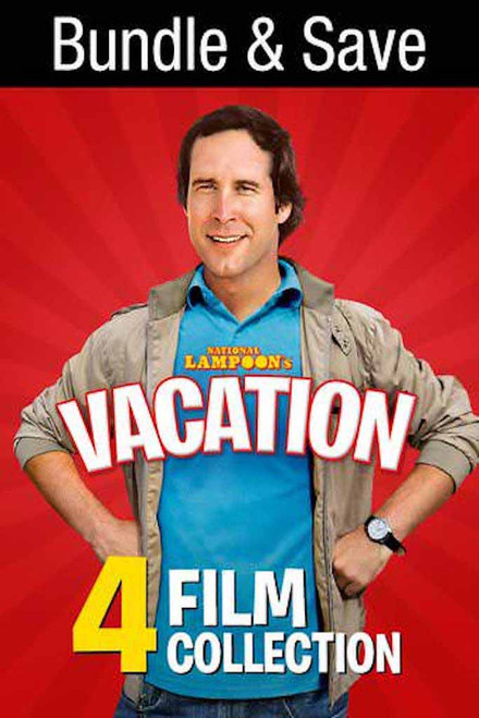National Lampoons Vacation 4 Film Bundle