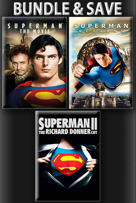 Superman Triple Feature