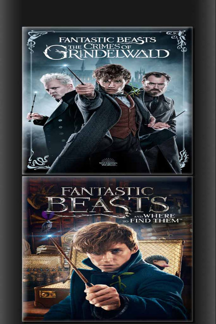 Fantastic Beasts Crimes Of Grindlewald + Fantastic Beasts And Where To Find Them