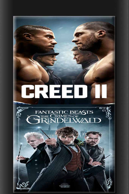 Fantastic Beasts Crimes Of Grindlewald/Creed 2