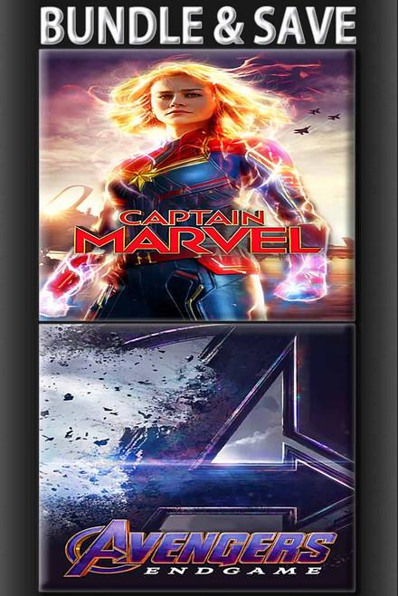 Avengers End Game/Captain Marvel
