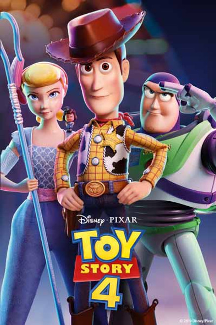 Toy Story 4 [Movies Anywhere 4K, Vudu 4K or iTunes 4K via Movies Anywhere]