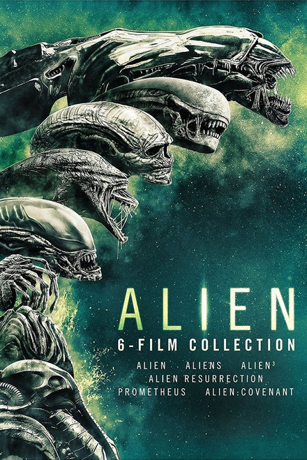 Alien 6 Movie Collection BUNDLE
