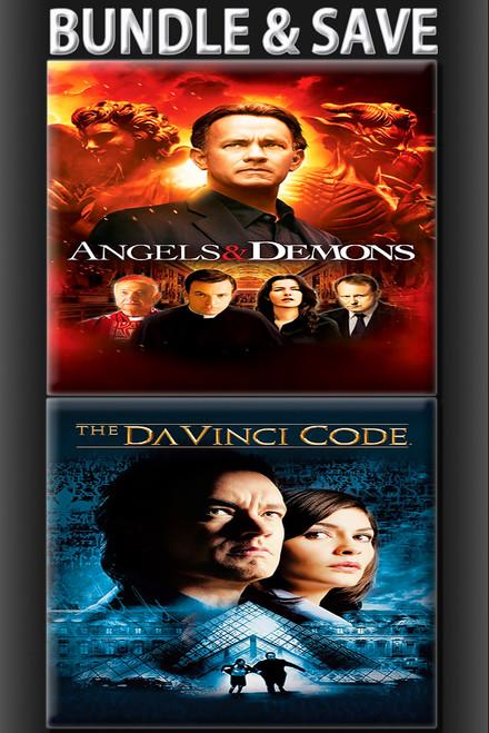 Angels and Demons  The Da Vinci Code BUNDLE