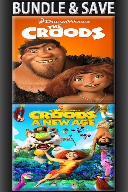 The Croods 2 Movie Bundle [Movies Anywhere HD, Vudu HD or iTunes HD via Movies Anywhere]