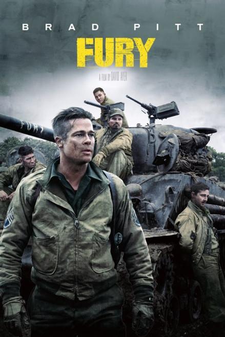 Fury [Movies Anywhere 4K, Vudu 4K or iTunes 4K via Movies Anywhere]
