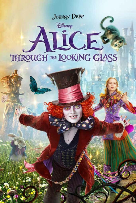 Alice Through The Looking Glass [Google Play] Transfers To Movies Anywhere, Vudu and iTunes