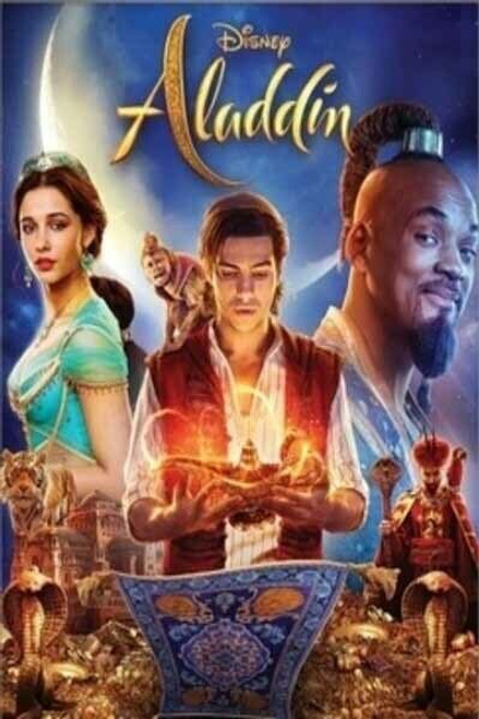 Aladdin 2019 Live Action [Google Play] Transfers To Movies Anywhere, Vudu and iTunes