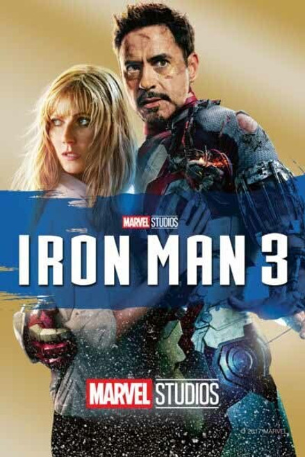 Iron Man 3 [Google Play] Transfers To Movies Anywhere, Vudu and iTunes