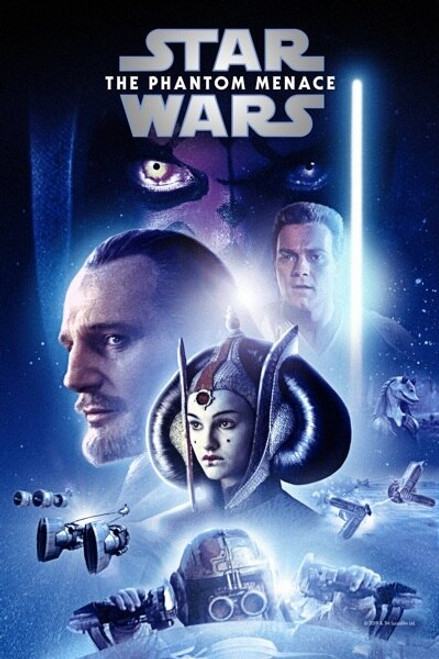 Star Wars: The Phantom Menace [Google Play] Transfers To Movies Anywhere, Vudu and iTunes
