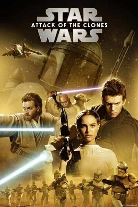 Star Wars Attack Of The Clones [Google Play] Transfers To Movies Anywhere, Vudu and iTunes