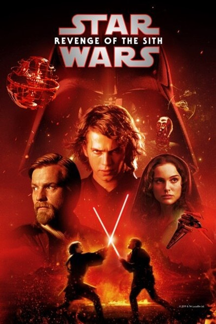 Star Wars: Revenge Of The Sith [Google Play] Transfers To Movies Anywhere, Vudu and iTunes