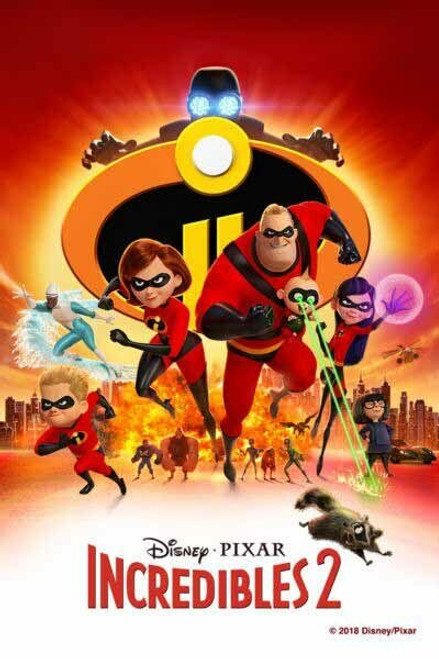 Incredibles 2 [Google Play] Transfers To Movies Anywhere, Vudu and iTunes