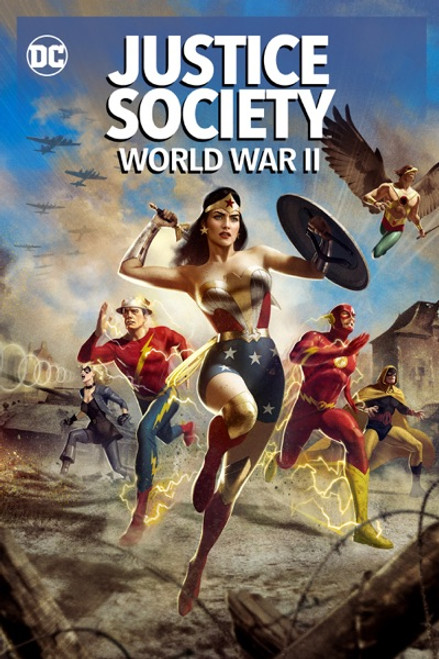 Justice Society World War II [Movies Anywhere HD, Vudu HD or iTunes HD via Movies Anywhere]