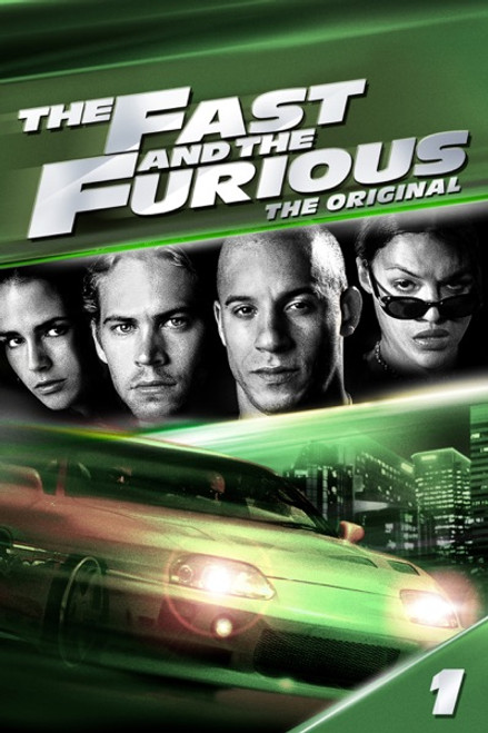 The Fast And The Furious [Movies Anywhere 4K, Vudu 4K or iTunes 4K via Movies Anywhere]