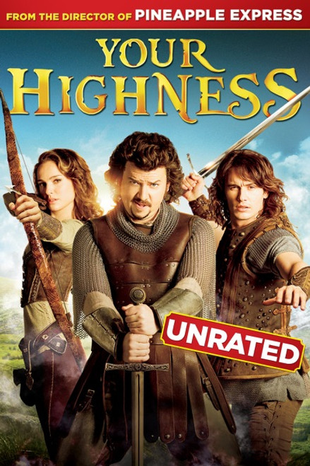 Your Highness Unrated [Movies Anywhere HD, Vudu HD or iTunes HD via Movies Anywhere]