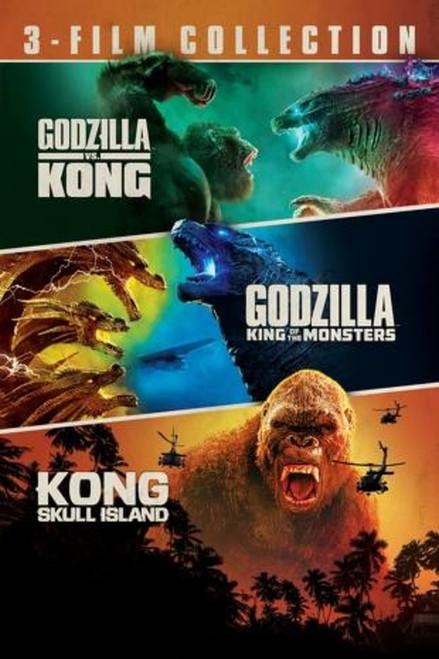 Godzilla 3 film collection