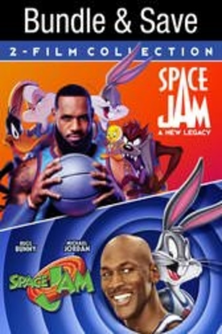 Space Jam A New Legacy + Space Jam Bundle 2 Film Collection [Movies Anywhere HD, Vudu HD or iTunes HD via Movies Anywhere]