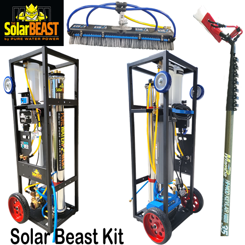 PWP Solar Beast Cleaning System Kit