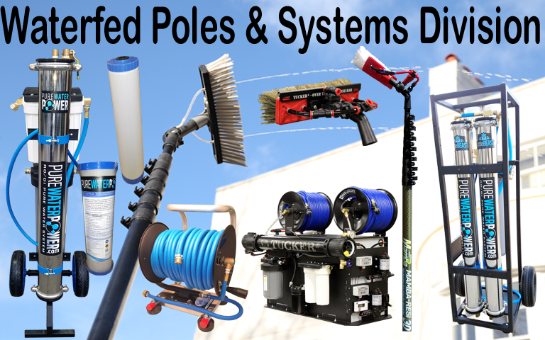 Waterfed Poles & Systems