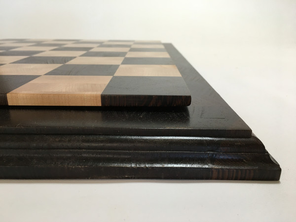 Chess Board, End Grain, Wenge & Hard Maple