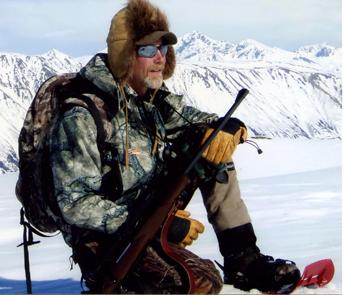 Professional Hunter Rick Young in Alaska