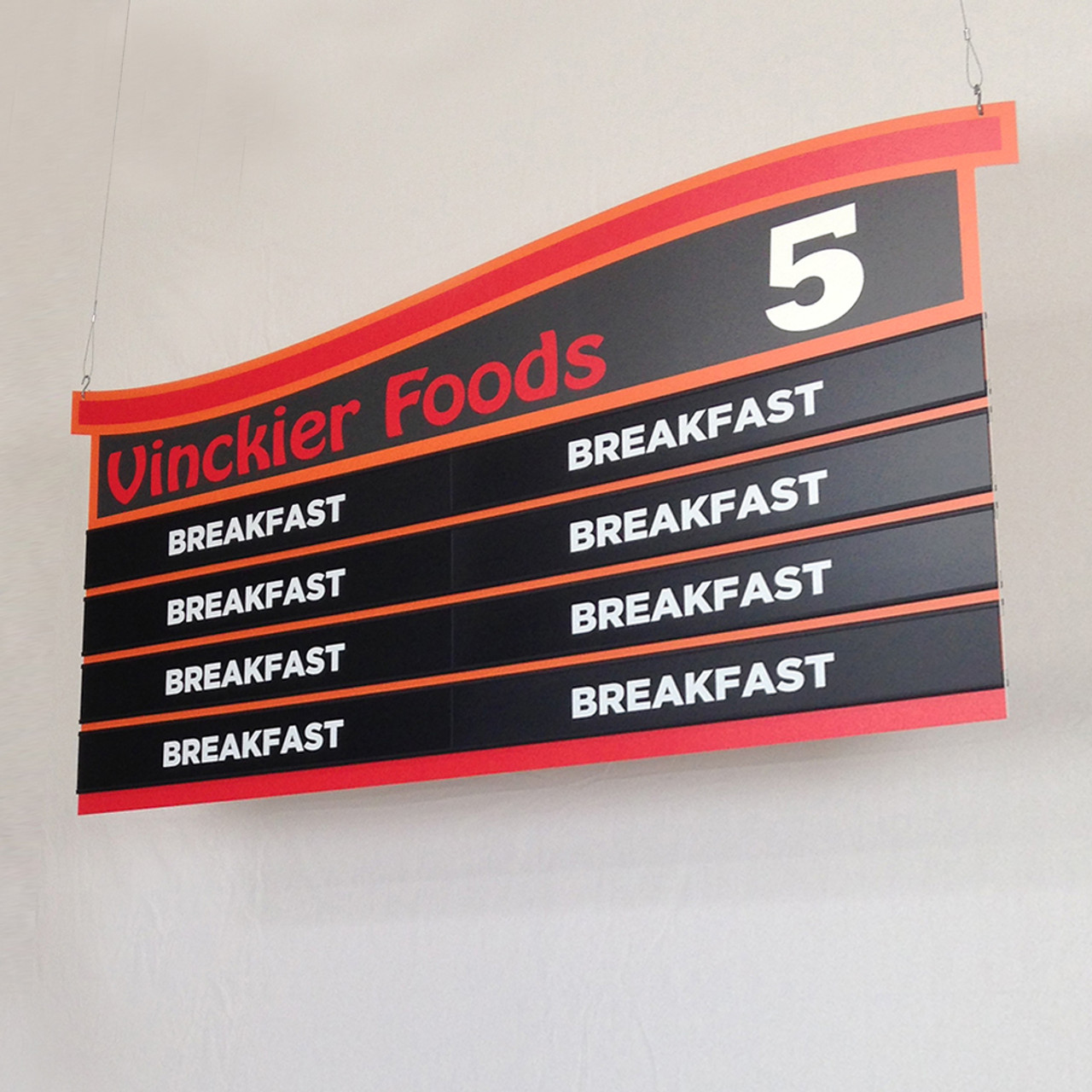 Grocery Aisle Signs Supermarket Signage Design Retail Graphics