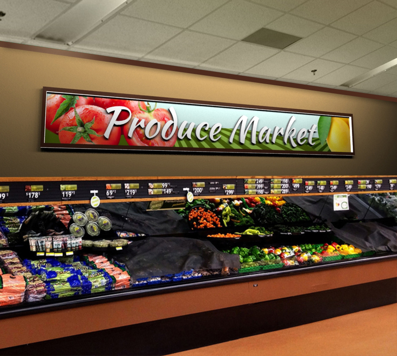 Grocery Store Decor Vintage Produce Signs
