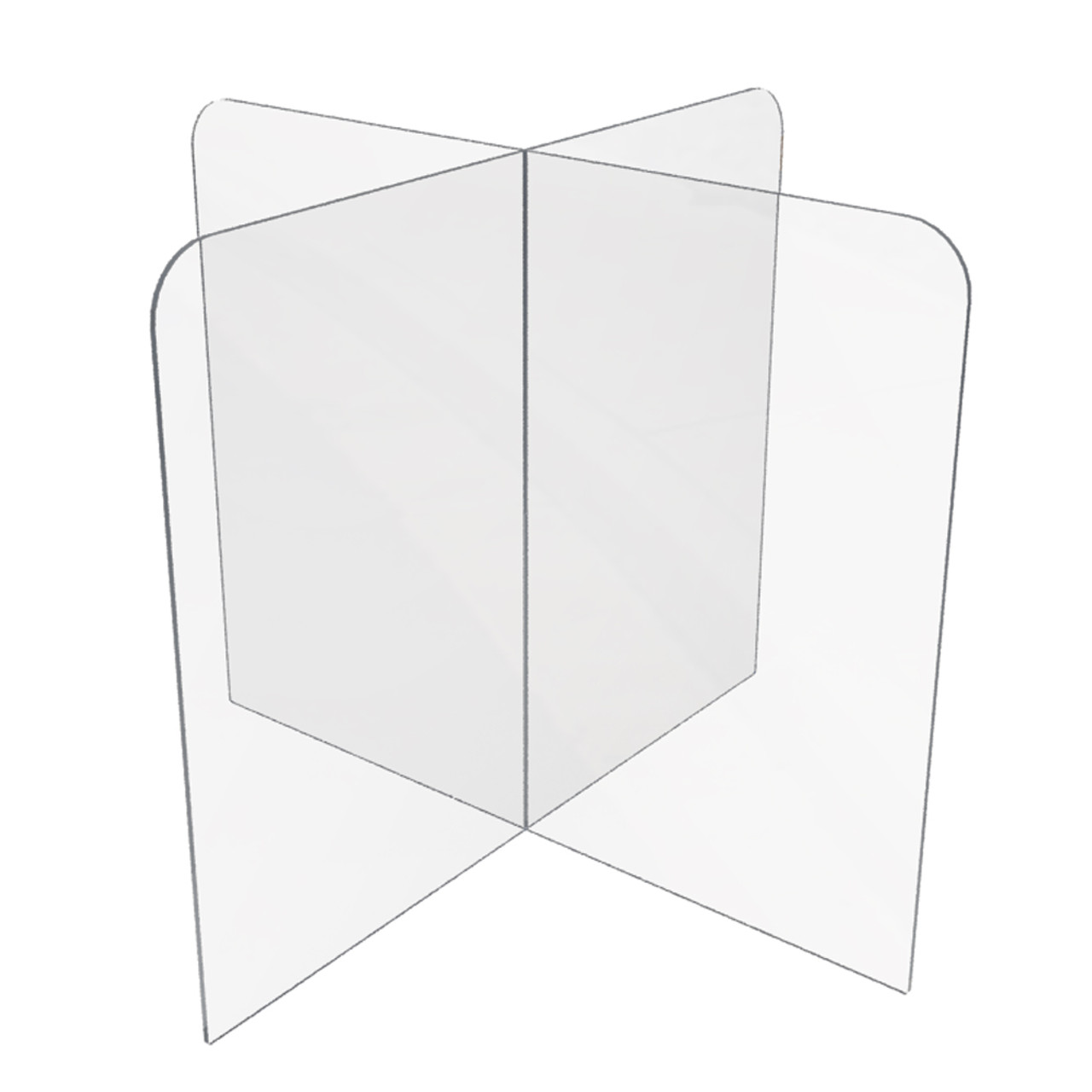 DAGCOT Floor Standing Sneeze Guard//Room Divider Portable Divider Partition,,Plastic Sneeze Guard for Ground with Oxford Cloth Bag Isolation Shields Reception Screen Transparent Protective Shield