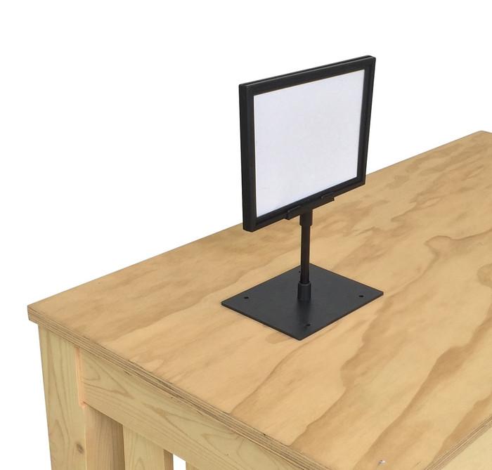 "Countertop Sign Holder 5-1/2""x7"" Frame - Shelf Sign Holders"
