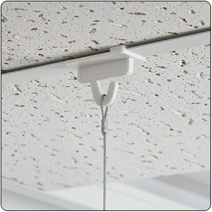 aircraft cable for hanging ceiling signs