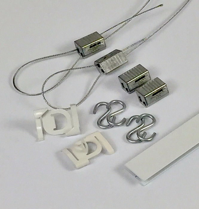 cable sign hanging systems
