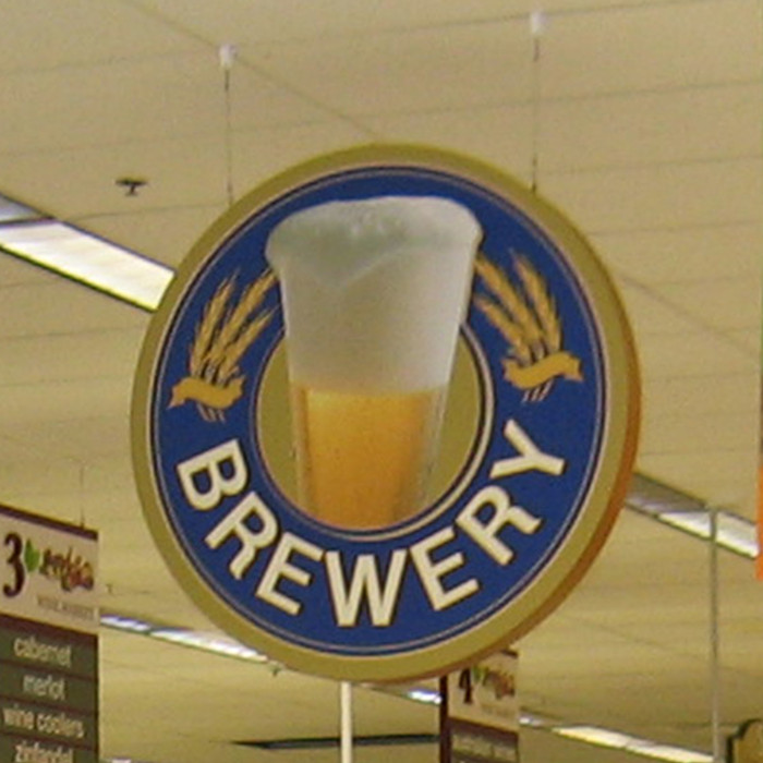 beer signs for liquor stores