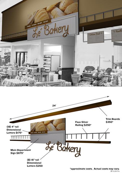 Bakery decor cafe interior design