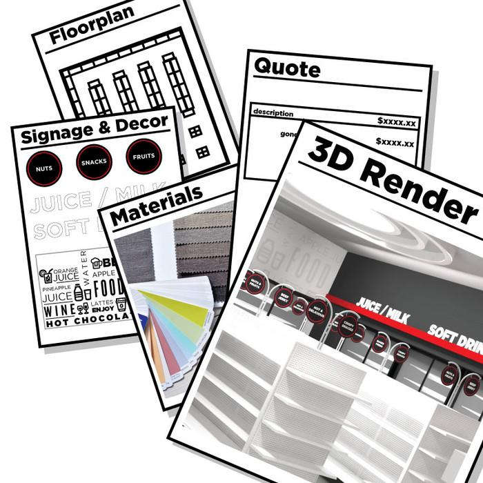 Free Convenience Store Design Layout Service, Retail Interior Design Ideas - No Obligation!