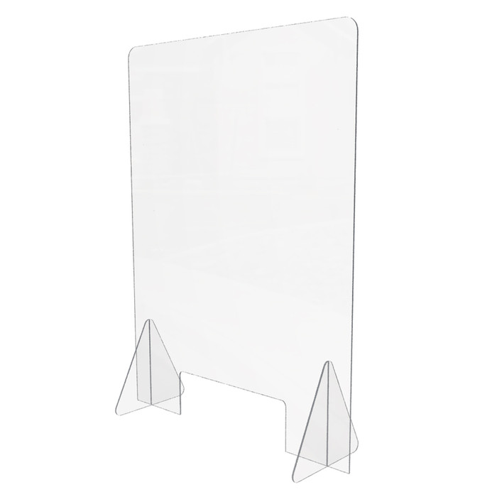 table top sneeze guard for personal use on desk or counter