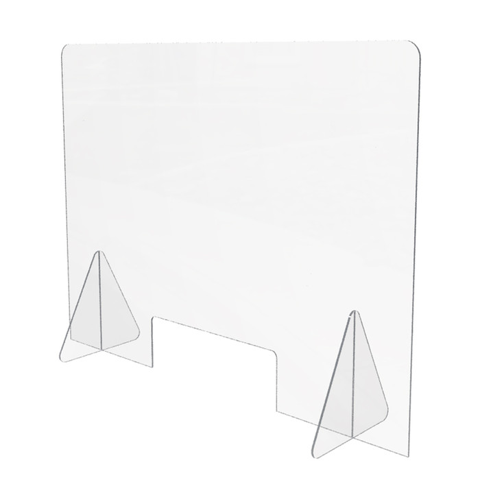 sneeze guard for sale from DGS Retail for use on desk, tables or counters