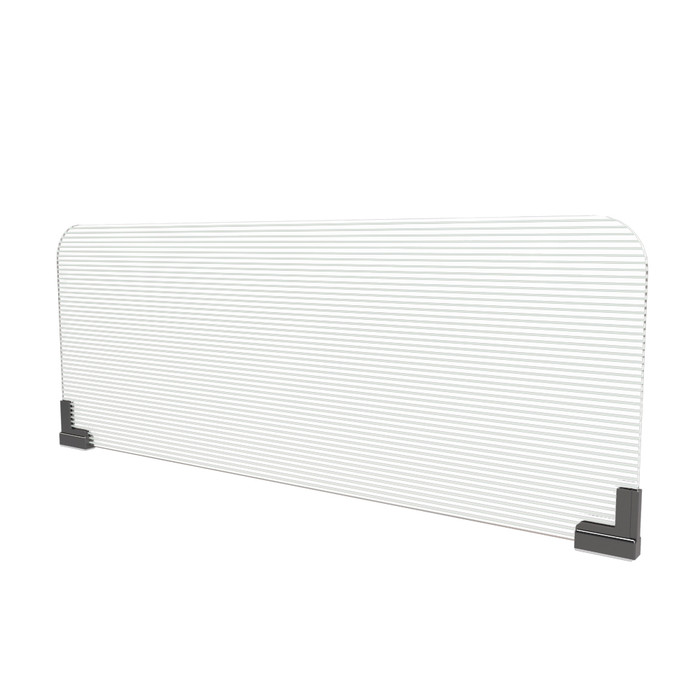 magnetic office cubicle wall extender sneeze guard manufactured by DGS Retail