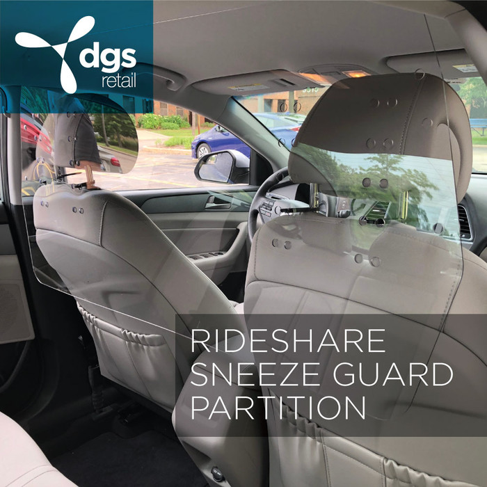 N//Y Shield Protective Cough and Sneeze Guard Car Barrier Partition for Driver /& Passenger Protection Lightweight Durable Shatterproof Acrylic Isolation Board