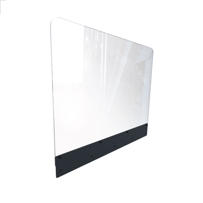 Restaurant Booth Partition Divider Sneeze Guard Panel Made By DGS Retail