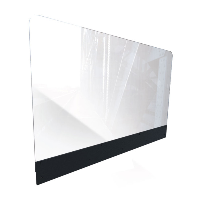 Sneeze Guard Shield For Restaurant Booth Partition Dividers Made By DGS Retail