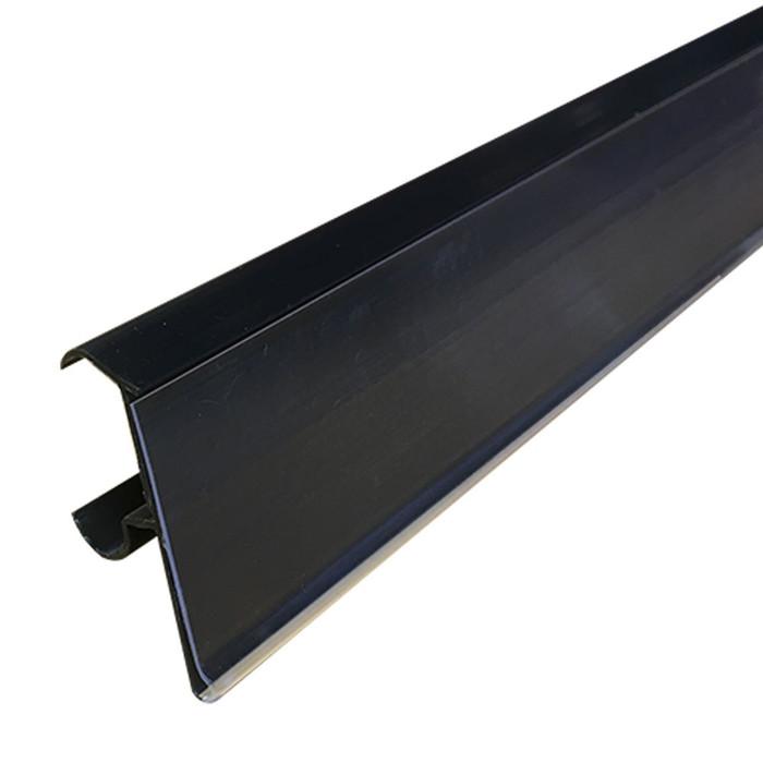 label holder strip for cooler shelves 29.5 inches wide
