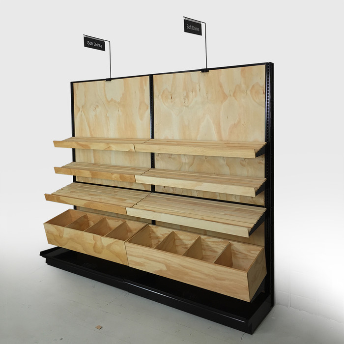 bread display racks for stores
