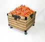 local grown produce display orchard bin